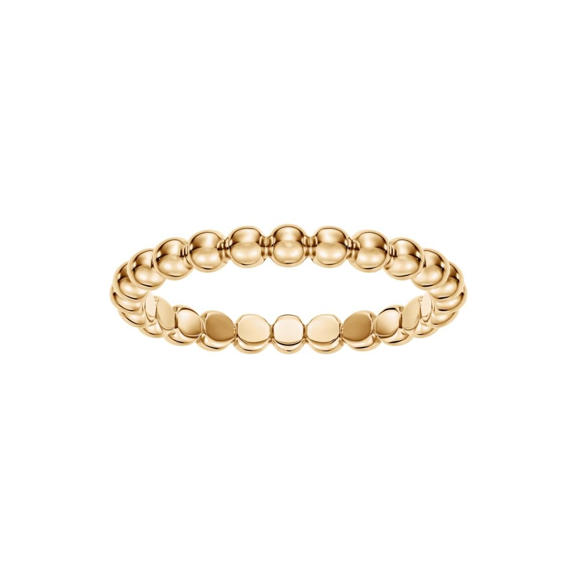 Pierścionek Rings z żółtego złota