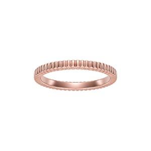 Pierścionek Rings z różowego złota