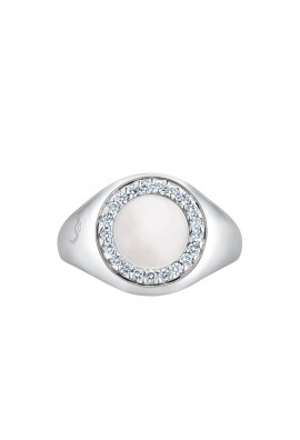 Diamond Signet Ring DR285B